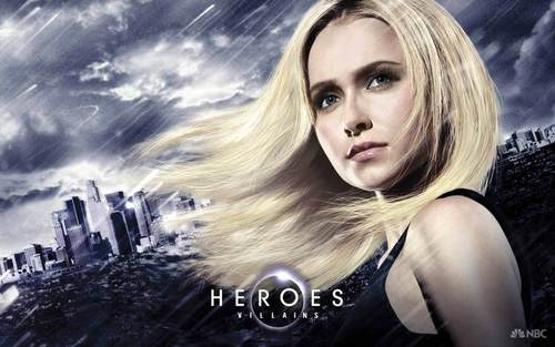 karakter wanita di tv wallpaper entitled Claire Bennet - Hereos