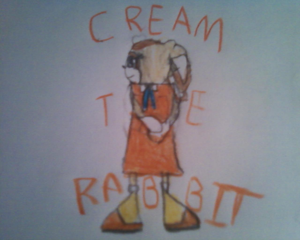 Cream The Cutie Rabbit