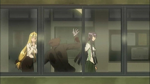 Episode 2 - Escape from the DEAD - highschool-of-the-dead Screencap