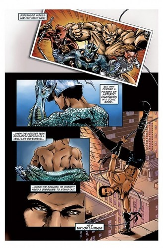 Fame: Taylor Lautner Comic Book Preview