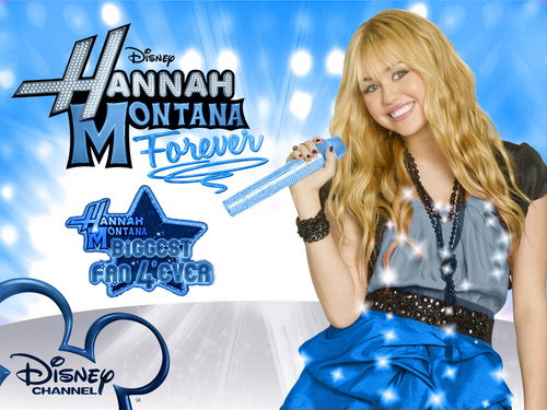 Hannah montana season 4'ever exclusive modifica version wallpaper as a part of 100 days of hannah!!
