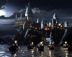Hogwarts at night