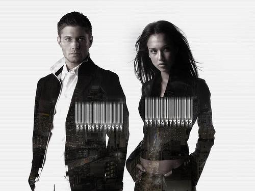 Jensen Ackles & Jessica Alba fanart