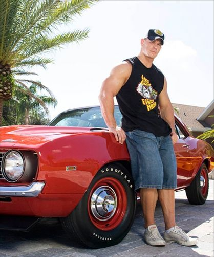 John Cena and his cars :) - wwe Photo