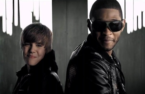 Justin and Usher-Somebody To 愛 音楽 video
