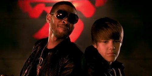 Justin and Usher-Somebody To pag-ibig music video