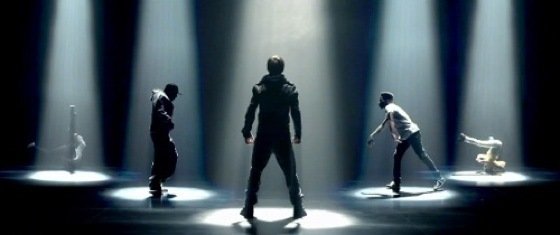 Justin and Usher-Somebody To Love music video