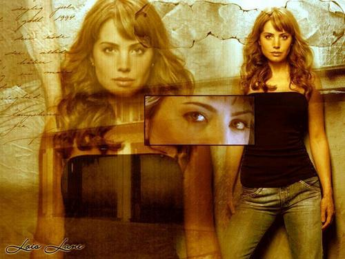 Lois Lane - Smallville - tv-female-characters Wallpaper