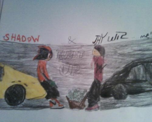 Me and Shadow....with r Ferrari'z