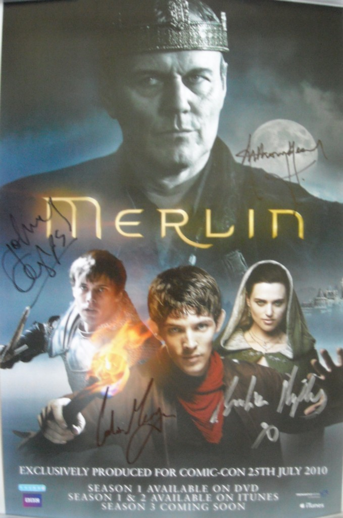 Merlin Season 3 Poster Merlin On Bbc Photo 14689472