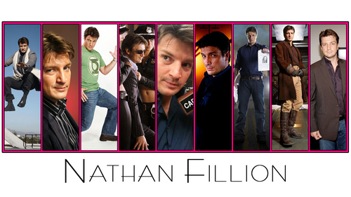 Nathan Fillion 바탕화면 entitled Nathan Fillion