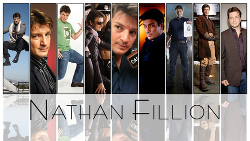 Nathan Fillion 바탕화면 titled Nathan Fillion