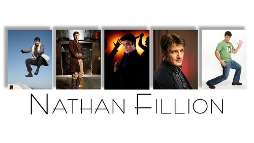 Nathan Fillion fond d'écran entitled Nathan Fillion