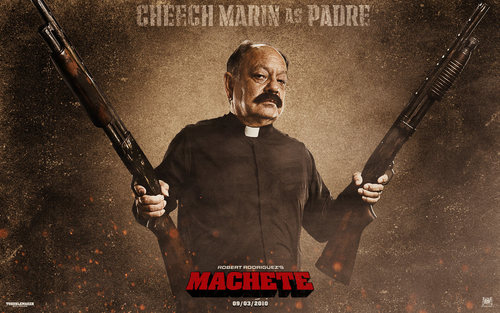 Machete wallpaper entitled Padre Wallpaper