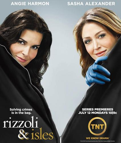 Rizzoli & Isles wallpaper entitled Rizzoli & Isles Poster