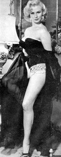 Sabrina in lingerie