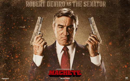 Machete wallpaper called Senator McLaughlin Wallpaper