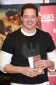 Signing copies of Inkheart @ Borders in NY - brendan-fraser photo