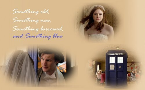 Something Old, Something New, Something Borrowed, and Something Blue 1680x1050 kertas dinding