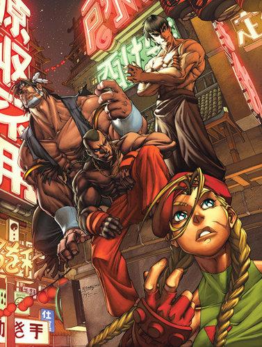 街, 街道 Fighter characters