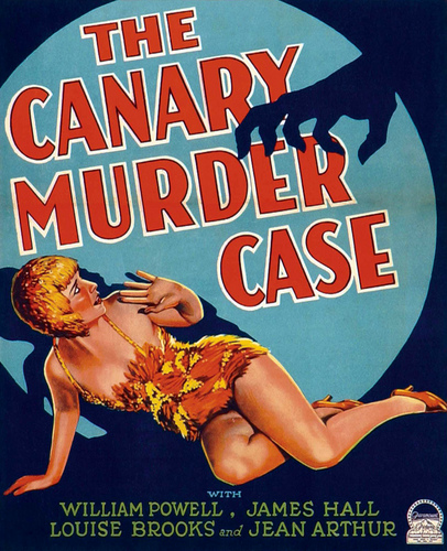 Louise Brooks wallpaper entitled The Canary Murder Case Poster