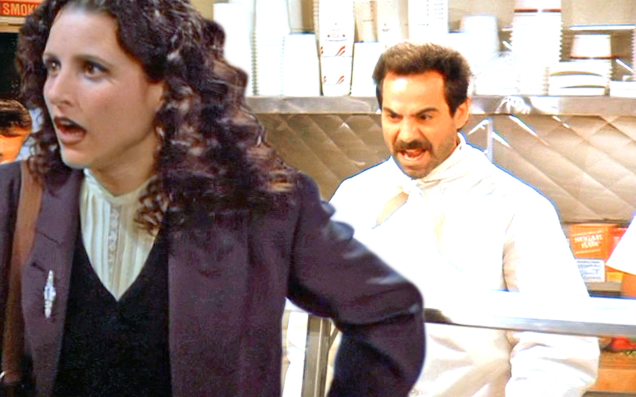 soup nazi For the character, see yev kassem the soup nazi is the sixth episode of the seventh season of.