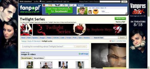 Critical Analysis of Twilight 壁纸 titled Vampire Sucks Ad in the Twilight Spot