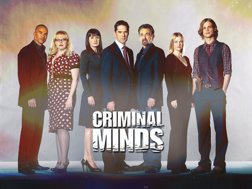 Esprits Criminels fond d'écran titled criminal minds