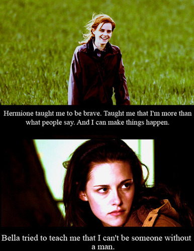 funny twilight and harry potter pictures - harry-potter-vs-twilight Photo