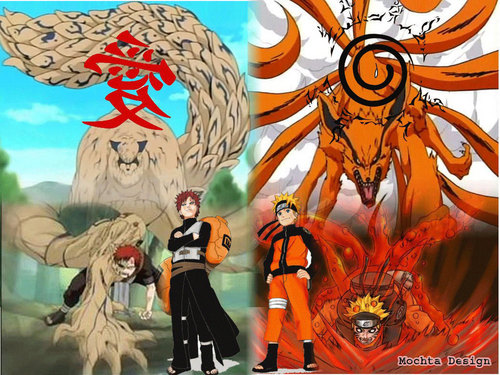 gaara and NARUTO -ナルト-