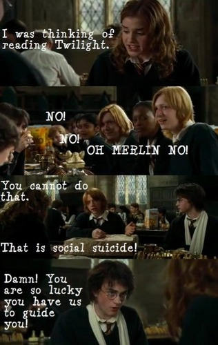 harry/twilight funny pictures - harry-potter-vs-twilight Photo