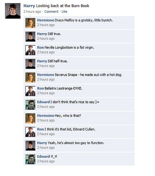funny twilight pictures. harry/twilight funny pictures