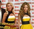 shakira tina same dress - shakira photo
