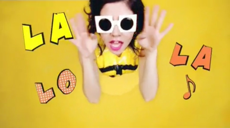 Marina and the Diamonds Oh No Video Screencaps