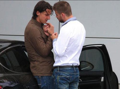 WTF: Zlatan Ibrahimovic & Gerard Pique