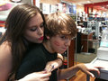 i kiss christian! in chick **** - caitlin-beadles photo