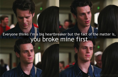 """...you broke mine first."""