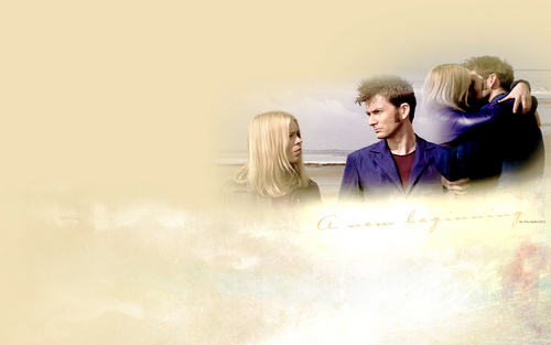 10&Rose - doctor-who Wallpaper