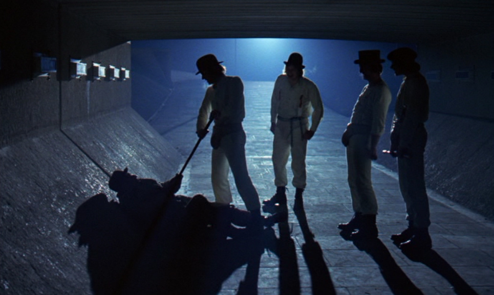 a comparison between the movie and the novel a clockwork orange