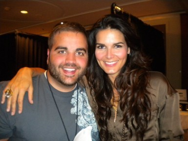 Angie Harmon @ R&I Press Junket
