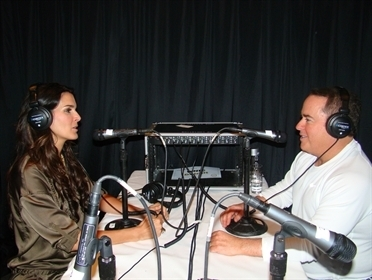 Angie Harmon @ the R&I press junket