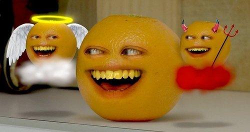 Annoying arancia, arancio