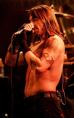 Anthony Kiedis *The Ramones*