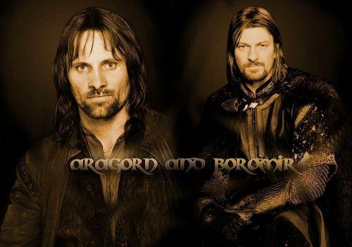 Aragorn and Boromir <3