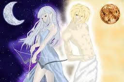 Greek Mythology wallpaper entitled Arthemis and Apollo