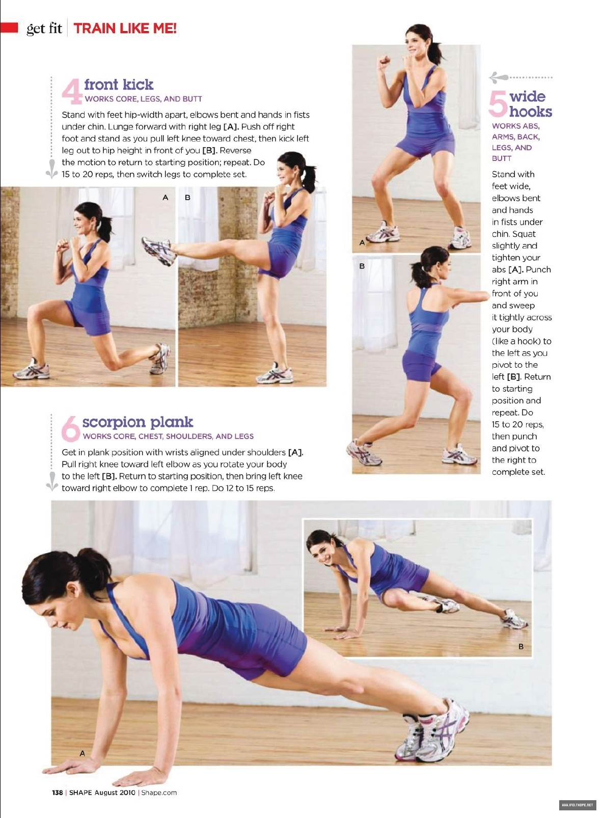 Ashley Greene in August 2010 issue of Shape
