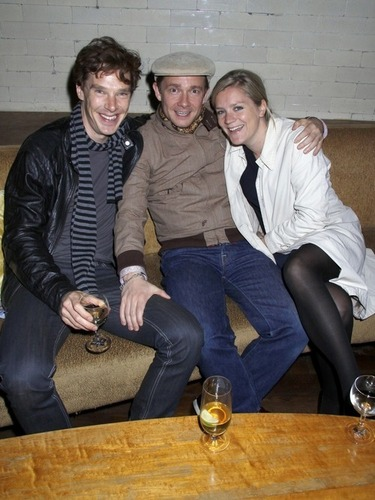 Benedict and Martin Freeman - benedict-cumberbatch Photo