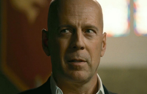 Bruce Willis in The Expendables