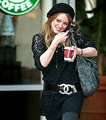 Celebrities and Starbucks - starbucks photo