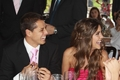 Chicharito and girlfriend !